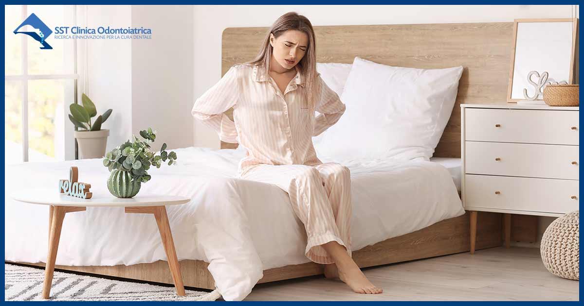 Disturbi del sonno al risveglio, riposare male la notte